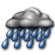 Cloudy with Light Rain Likely